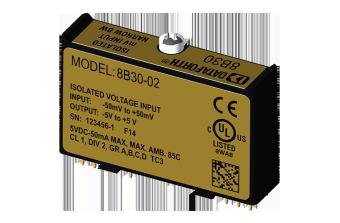 8B31-custom Модули нормализации аналоговых сигналов