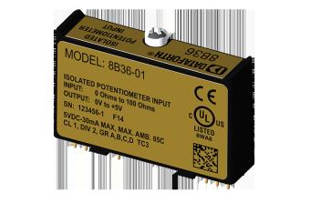 8B36-custom Модули нормализации аналоговых сигналов