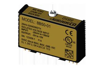 8B50-xx Модули нормализации аналоговых сигналов