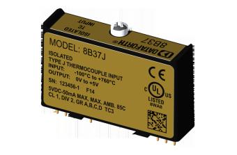 8B37x Модули нормализации аналоговых сигналов