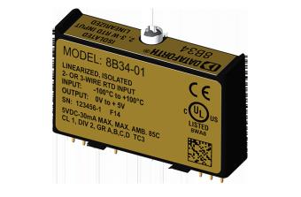 8B34-xx Модули нормализации аналоговых сигналов