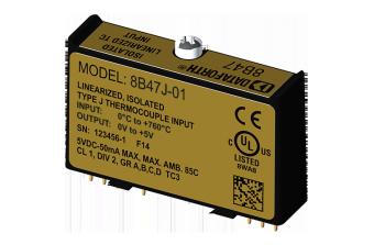 8B47x-xx Модули нормализации аналоговых сигналов