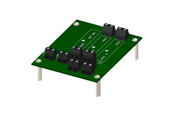 8BP02-1 Монтажная панель для нормализаторов