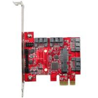 PCIe to four SATA3 card (ESPS-3401-C1)