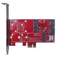 SATA to mSATA & M.2 card (ESXS-2301-C1)