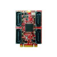 PCIe x4 to dual M.2 module (ELPS-3201-C1)