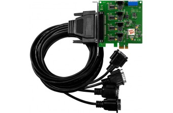 PCI Express платы RS-232/422/485 VEX-114i/D2 CR,   ICP DAS Co. Ltd. (Тайвань)