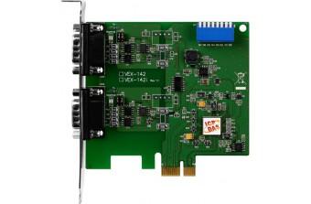PCI Express платы RS-232/422/485 VEX-142 CR,   ICP DAS Co. Ltd. (Тайвань)
