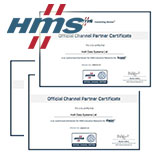 Сертификат официального дистрибьютора HMS Networks (Anybus, Ixxat, Ewon)