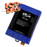 GW-7663 - Интерфейсный преобразователь PROFINET в Modbus TCP от фирмы ICP DAS