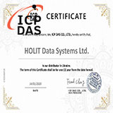 Сертификат 2020 официального дистрибьютора ICP DAS
