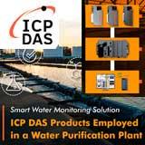 Умное решение для мониторинга воды - Продукты ICP DAS, применяемые на заводе по очистке воды (Тайвань)