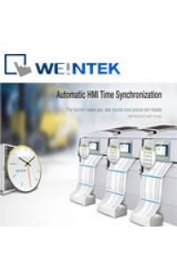 Автоматическая синхронизация времени в HMI панелях от  Weintek